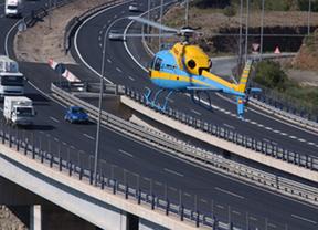 La DGT estrena su nuevo 'helicóptero radar' para cazar imprudentes