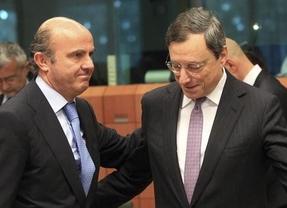 Draghi mete presión:
