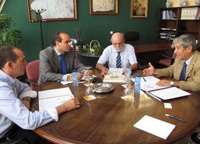La patronal de Guadalajara intenta convencer a Aragón para crear un corredor ferroviario de mercancías