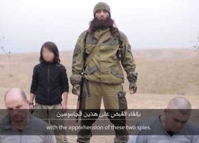 El Estado Islámico difunde una escalofriante ejecución de dos rusos a manos de un niño