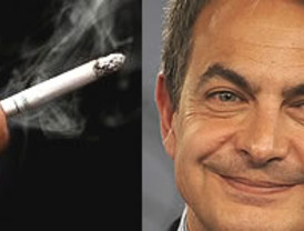 Zapatero, fumador ocasional, defiende la Ley antitabaco: 'No convierte a nadie en delincuente'
