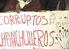 Los ingeniosos lemas de la manifestación del 14-N