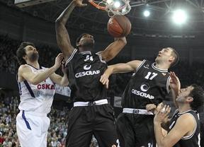El CSKA pone fin al sueño del Gescrap Bizkaia en el cuarto partido (71-73)
