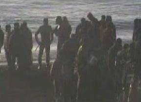 Un incidente en la frontera de Ceuta deja un policía nacional herido grave en plena visita de los Reyes a Marruecos