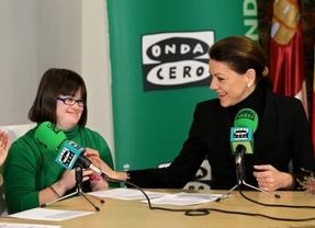 Cospedal anuncia que las personas con Síndrome de Down hará prácticas laborales en la Administración