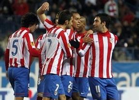 El Atlético cumple al fin: 3-1 al Rennes y evitará a los 'cocos' de la Champions en los cruces