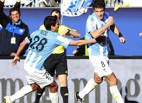 El Málaga sigue en la lucha por Europa tras ganar al Mallorca (3-1)