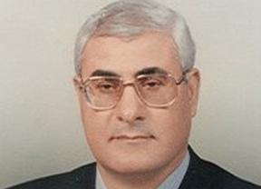 El presidente del Constitucional egipcio, Adli Mansur, presidente interino del país