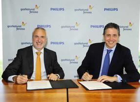 Gas Natural Fenosa y Philips firman un convenio para promover la iluminación eficiente y los servicios energéticos