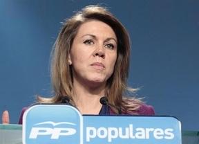 Cospedal atribuye el aumento de sueldo de Rajoy a