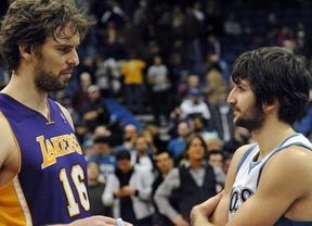 Mal inicio 'español' de 2013 en la NBA: Ricky recae de su lesión y Pau Gasol vuelve a perder