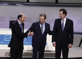 El debate Rajoy-Rubalcaba costó 80.000 euros menos de lo presupuestado