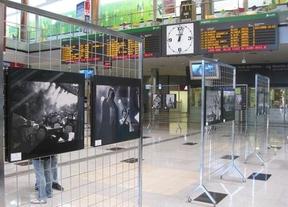 'La Feria en blanco y negro', en la estación del AVE de Albacete
