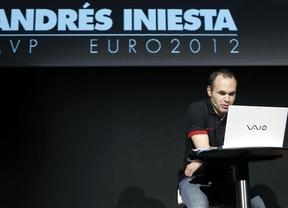 Andrés Iniesta,el mejor jugador de la Eurocopa