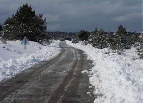 Problemas en algunos puntos de Castilla-La Mancha debido a la nieve