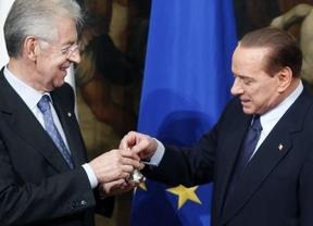 Monti abandona el ministerio de Finanzas justo el día en que Berlusconi anuncia que volverá a presentarse a las elecciones de 2013
