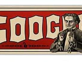 Google 'atrapa' a Houdini en su último doodle