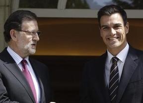 Reunión secreta en Moncloa: Rajoy y Sánchez abordaron en Moncloa el lunes la crisis de Cataluña
