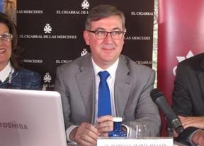 Marcial Marín presume de cifras: en dos años se ha reducido el abandono escolar siete puntos
