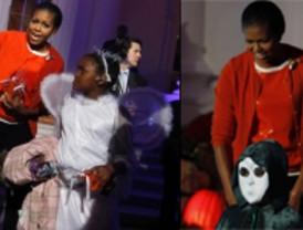 Halloween se coló en la Casa Blanca: Obama se sumó al