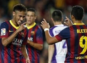 El Barça no echa en falta a Messi para seguir su racha: fácil goleada al Valladolid (4-1)