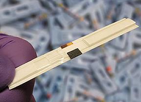 Desarrollan pilas de papel para test como los de embarazo o glucosa