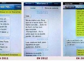 Rajoy envió sms de apoyo a Bárcenas durante los dos últimos años cuando el 'pastel' ya se conocía