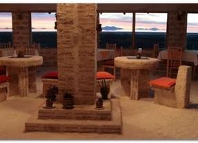 El hotel más 'salado' del mundo: está hecho por entero de bloques de sal
