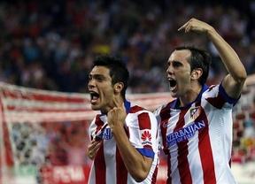 La intensidad del Atlético ahoga al Sevilla (4-0)