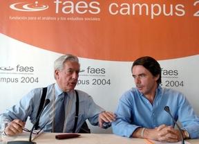 Aznar y Vargas Llosa, a crear un 'Partido Popular americano'
