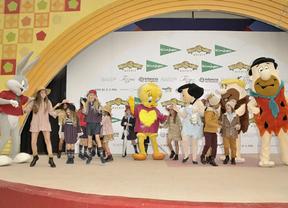 Las marcas de moda infantil de El Corte Inglés desfilan en la 'Parque Warner Fashion Day'