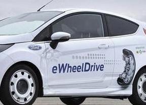 Ford y Schaeffler crean el prototipo eléctrico eWheelDrive con motores en las ruedas