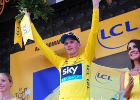 Chris Froome le 'roba' la crono a Contador por nueve segundos