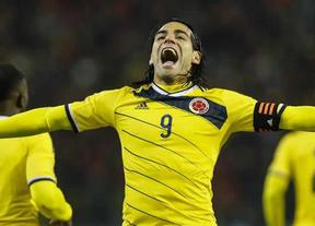 Colombia cada día más esperanzada: Falcao entrena con la selección, aunque sea aparte del grupo
