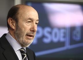 Rubalcaba interpreta que el FMI ve los Presupuestos 'completamente increíbles'