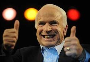 El republicano McCain la lía: compara al iraní Ahmadineyad con un mono
