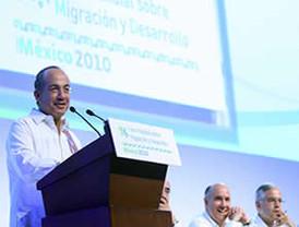 Participó el presidente FCH en IV Foro Mundial Sobre Migración; luego inició gira de trabajo a Corea y Japón