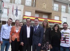 Bono apoya la candidatura de José García Salinas en Cabanillas (Guadalajara)