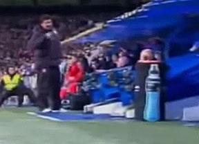 La bronca del Mono Burgos con Mourinho y su banquillo
