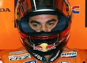 Pedrosa lidera el podio más español de la historia de MotoGP