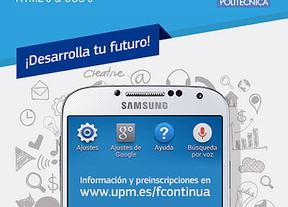 Samsung y la Universidad Politécnica de Madrid convocan cursos para jóvenes desempleados