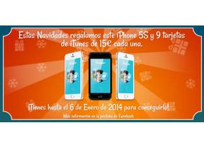 Stelapps regala un iPhone 5S y mucho más por Navidad