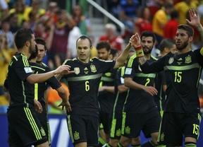 Una Roja de luto se parece a la de sus mejores tiempos y se despide del Mundial con victoria ante Australia (3-0)