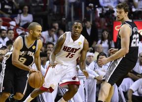 Finalísima de la NBA: los Spurs dan primero... y a domicilio ante los Heat (89-92)