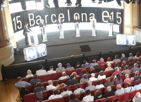 El accidentado debate de los candidatos por Barcelona
