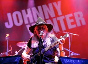 Johnny Winter en Madrid, la decadencia de una leyenda