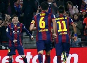 El Barça no cede y con el tridente mágico en plena forma goleadora apabulla al Getafe y le hace un set (6-0)