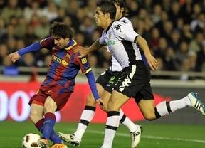 Copa- Un Valencia agresivo busca rematar a un Barça con dudas en su campo maldito de Mestalla