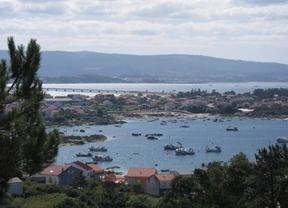 Arosa, la más extensa de las Rías Baixas