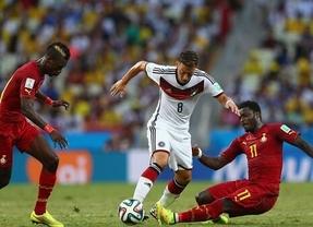 Donde menos se espera... salta la sorpresa: Alemania no puede con Ghana (2-2)
